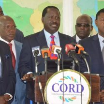 IEBC officials are staging election rigging, CORD says