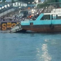 Unexpected incident at Likoni