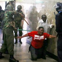 """Kenyans cry """"stop police brutality"""""""