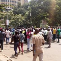 CORD is back in streets to call for IEBC disbandment.