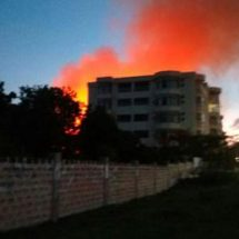 Popular Hotel and Homes Near High Court at Coast Burnt Down
