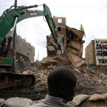 House demolitions resume at Huruma
