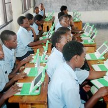 Excitement as pupils receive Government e-learning tablets