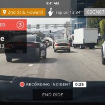 You can know who is a reckless driver by using Nexar
