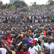 Thousands respond to Opposition Madaraka Rally