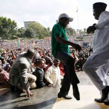 Cord owes Sh250,000 for rally against IEBC at Uhuru Park