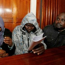 Four cops accused of Kimani's murder detained for a month