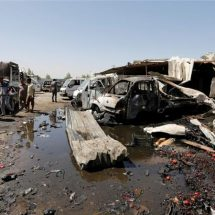 Deaths in car bomb market attack near Baghdad