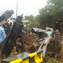 Four people die in road accident at blackspot in Kisumu