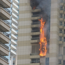 75 storey high Sufala Tower in Dubai caught fire