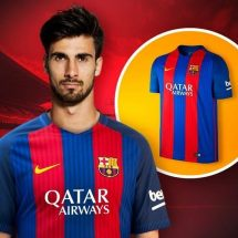 Barcelona sign Andre Gomes from Valencia and give Javier Mascherano new deal