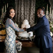 Pele married for the Third time at age of 75 years