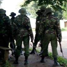 Several cops feared dead after gunman takes over Kapenguria station