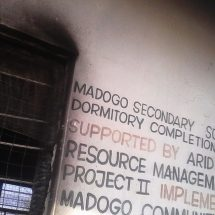 Madogo secondary school torched by students