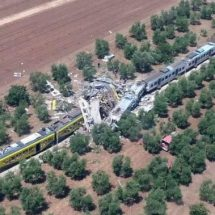 Italy train crash leaving at least 12 dead