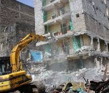The demolition of unsafe buildings in Huruma estate will start on Thursday.