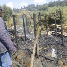 Molo Man burns self, two children to death after domestic row