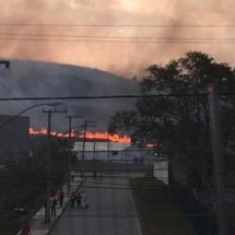 Brush fire forces athletes to evacuate Rio venues