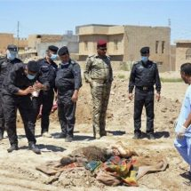 ISIL buried thousands in 72 mass graves