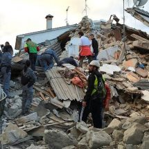 6.1 quake hits Italy leaving buildings leveled