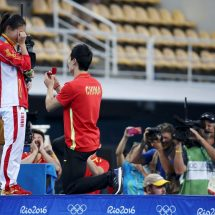 Romantic ending as diver wins silver but celebrates with a diamond