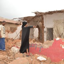 Families incur losses after demolishion of houses in Nyali, Mombasa