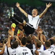In pictures Schweinsteiger bows out of international games
