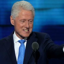Bill Clinton opens up about wife's struggle to appeal to voters