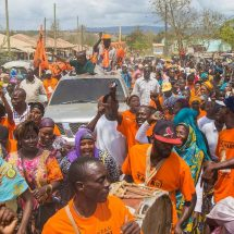 Raila claims that Jubilee values wildlife more than people
