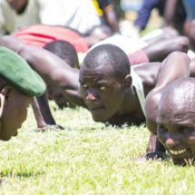 KDF recruiting kicks off with mass turnout