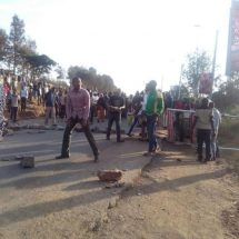 MMU peaceful demos turn violent