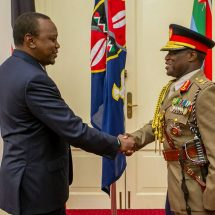 Lt. General Robert Kariuki Kibochi sworn in as the new army commander