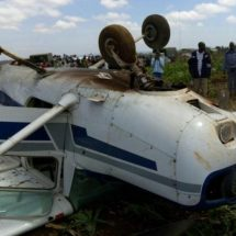 Two escape unhurt in NNP plane crash