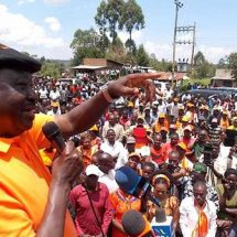 ODM chief Raila denies teachers direct tickets