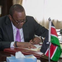 President assents law reforming electoral processes and CDF