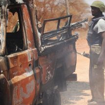 Mandera security officers are alert