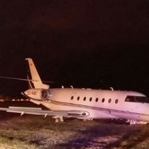 Christiano Ronaldo's jet crush after landing gear failure