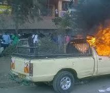 The Government commanded ODM to compensate owner of van burnt during rally