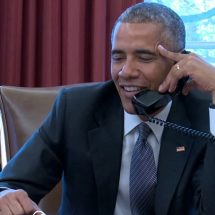 President Obama's Call With President Uhuru