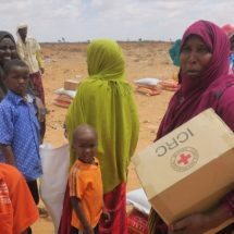 ICRC delivers emergency food and household materials to 60,000 displaced by fighting