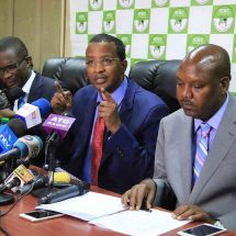 IEBC officials resign officially
