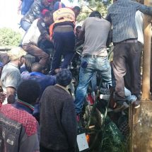 2 drivers rushed to hospital following an accident near Kabete Police Station