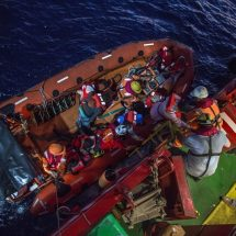 More than 200 People Rescued off Libyan coast