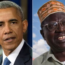 Obama's half-brother is Trump's guest