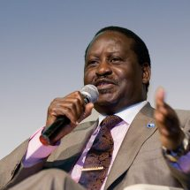 Northern Water Collector Tunnel will turn regions into deserts, Raila