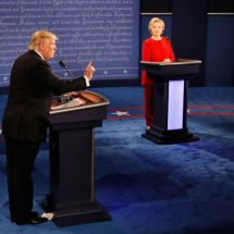 Trump, Clinton trade insults in second presidential debate