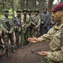 British and Kenyan Soldiers conduct Joint Military Training