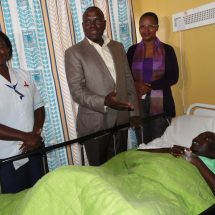 A widow benefits from TSC in Mandera
