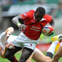 Oscar Ouma leads eight other Kenyans into the Samurai Bulldogs squad