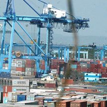 KRA intercepts containers of milk powder declared as gypsum board at Mombasa port